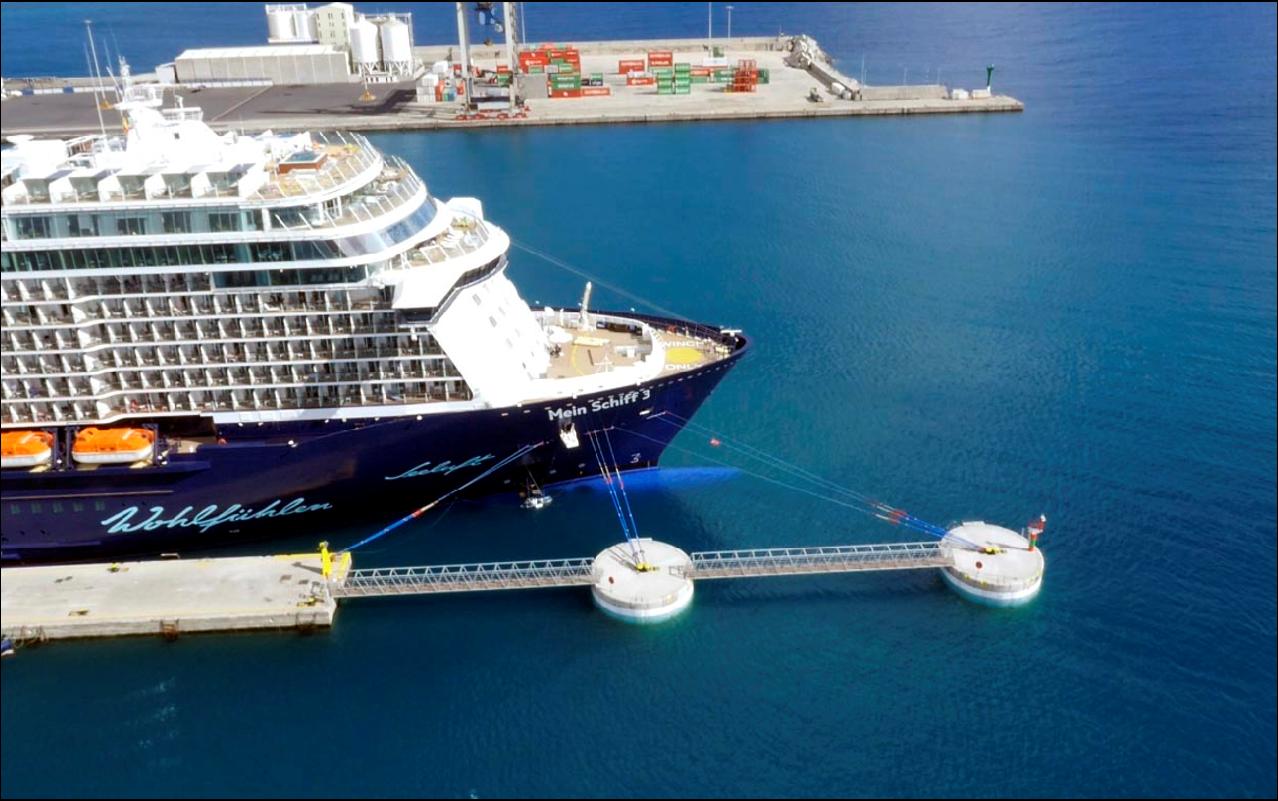 ampliación del Muelle de Cruceros del Puerto de Puerto del Rosario