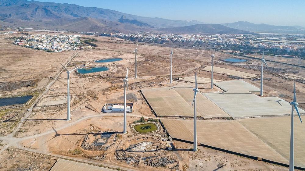 Ecoener pondrá en marcha en La Gomera cinco parques eólicos
