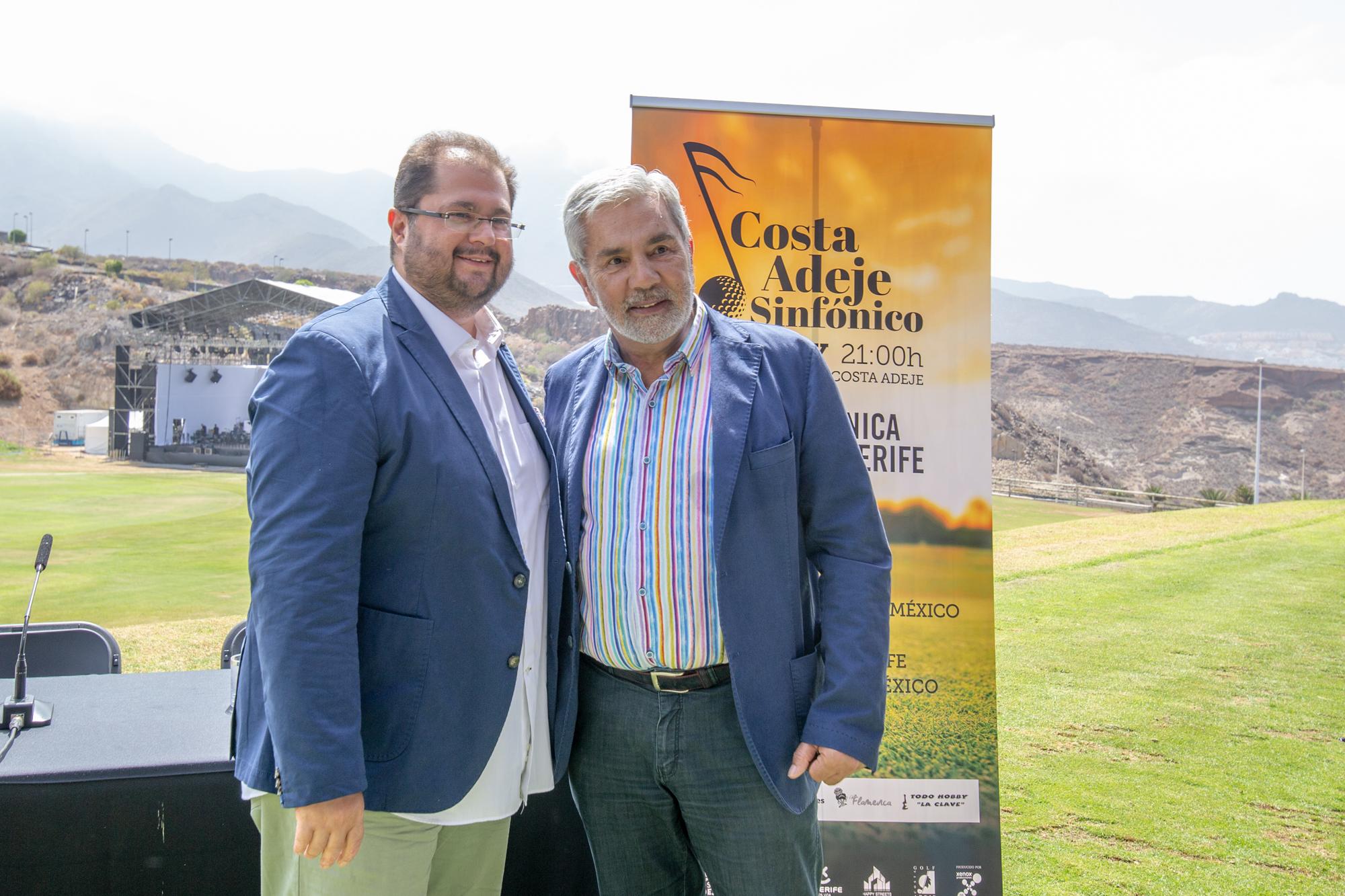 El Costa Adeje Sinfónico tendrá como director musical al tenor tinerfeño Celso Albelo a partir de 2020