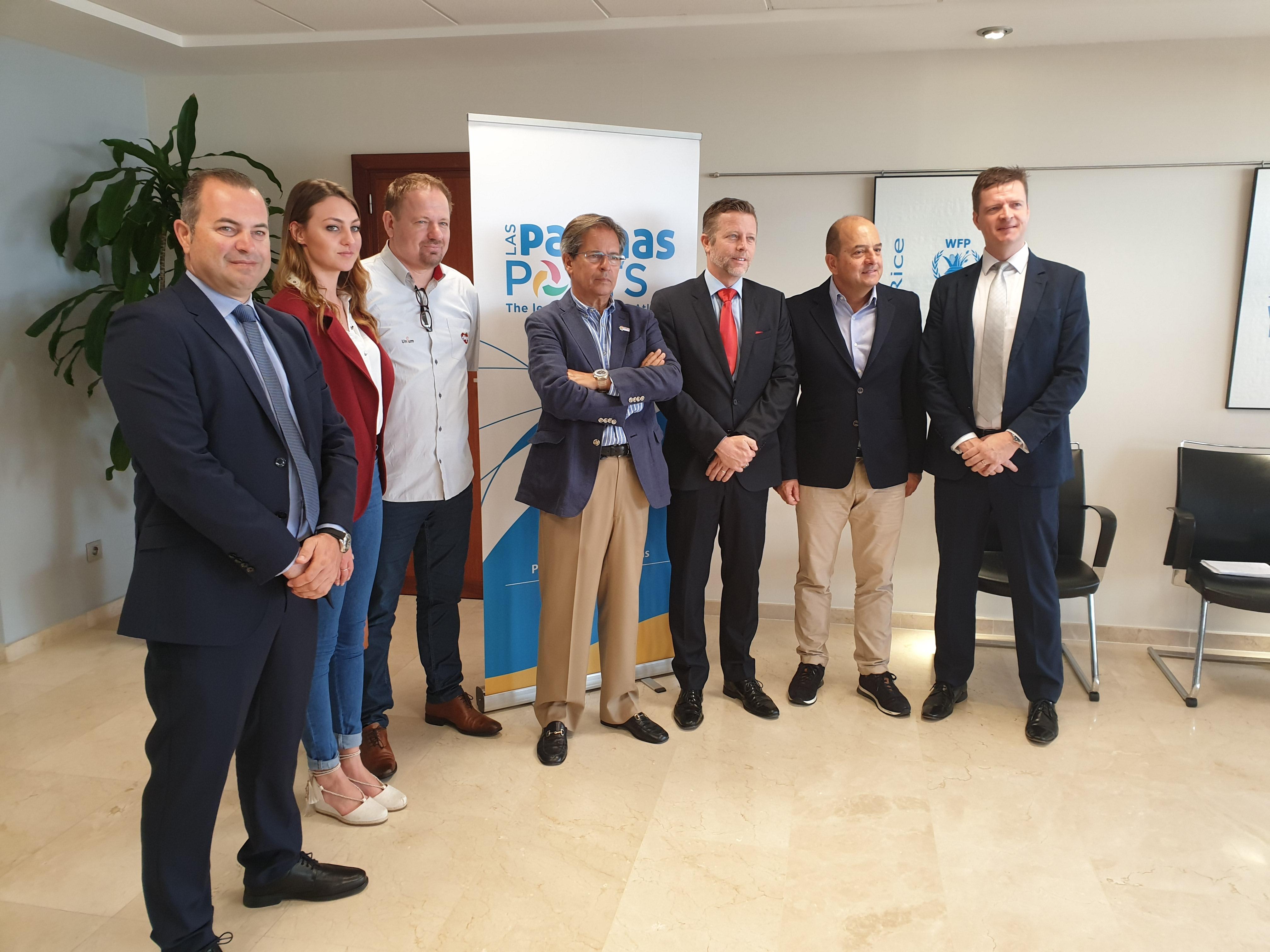Puertos de Las Palmas se ofrecen como HUB Logístico a empresarios del sector agrícola de Brasil