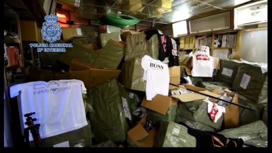 La Policia Nacional incauta unos 200.000 artículos falsificados