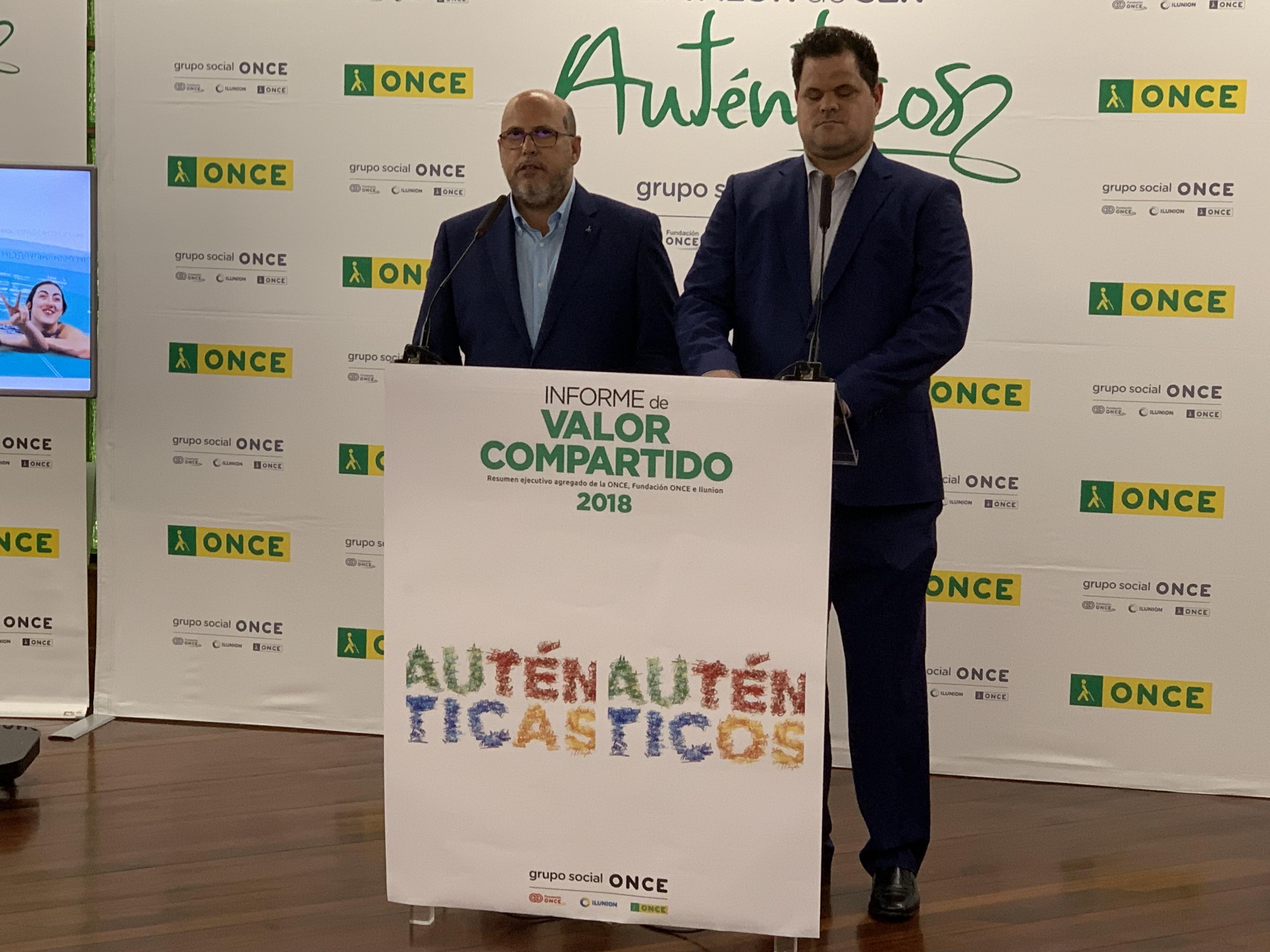 Resultado de imagen de La ONCE genera empleo para 973 personas en Canarias