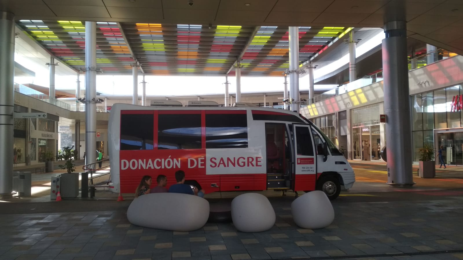 Las unidades móviles del ICHH estarán operativos durante el fin de semana en Tenerife y Gran Canaria