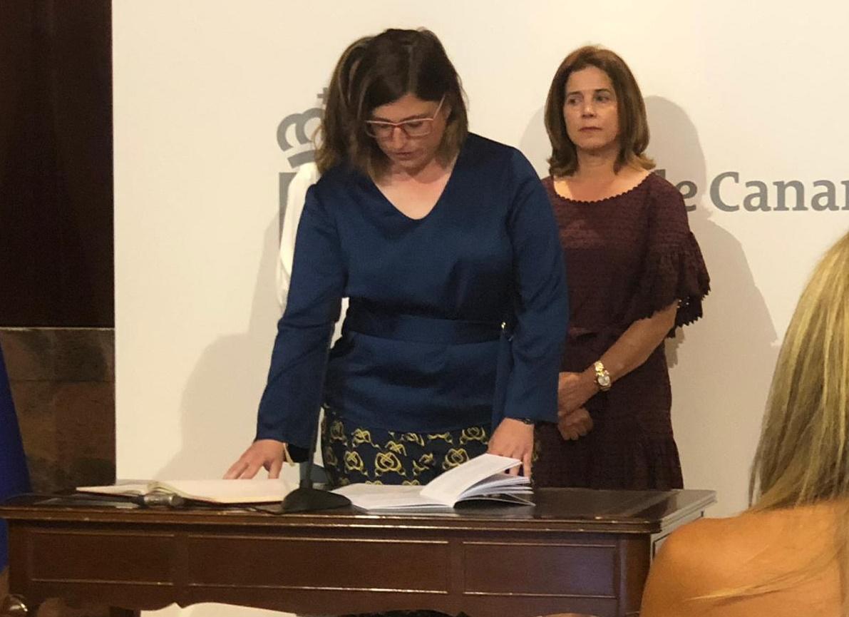 Dos fisioterapeutas, nuevas directoras de las Áreas de Salud de Lanzarote y El Hierro