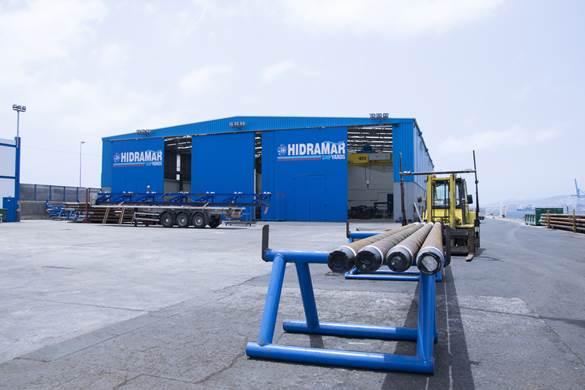 Hidramar Shipyards se posiciona como un referente en la reparación naval grancanaria