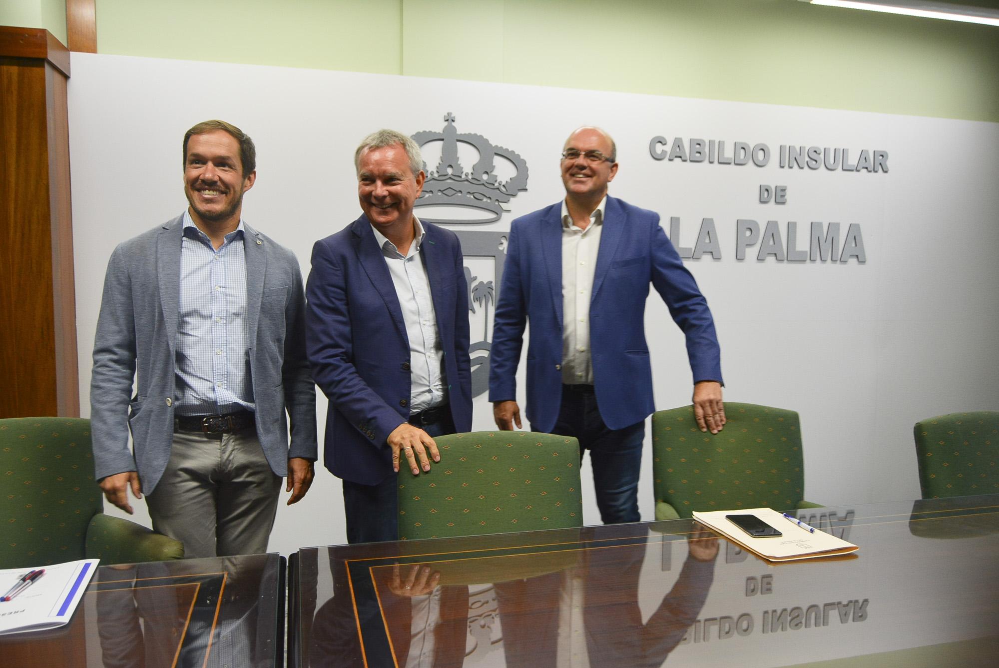 Franquis anuncia la licitación de obras por valor de 64 millones de euros en varias carreteras de La Palma para 2020