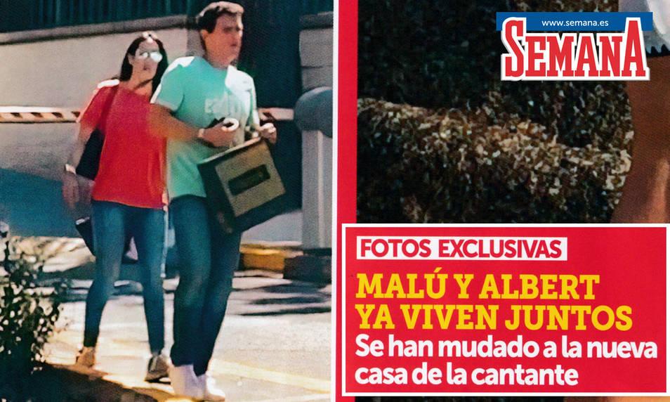 Malú y Albert Rivera en la portada de la revista Semana