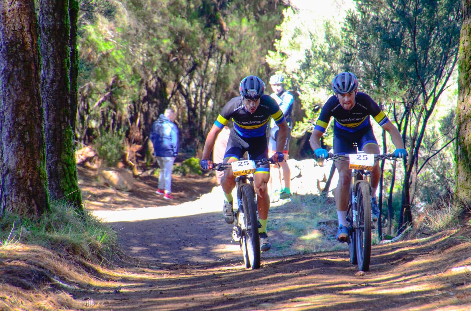 Pedro Rodríguez y Antonio Padrón, dos aspirantes al trono de la Transvulcania Bike