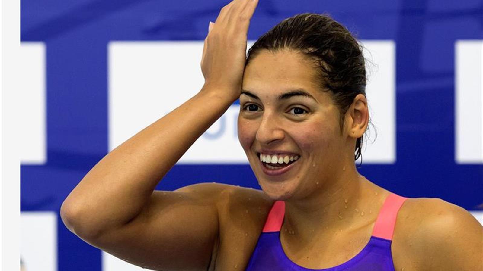 La nadadora tinerfeña Michelle Alonso logra un nuevo bronce