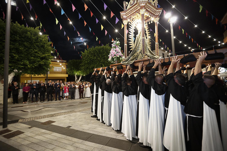 Fin de fiestas en Honor a La Virgen de Dolores en Barranco Hondo
