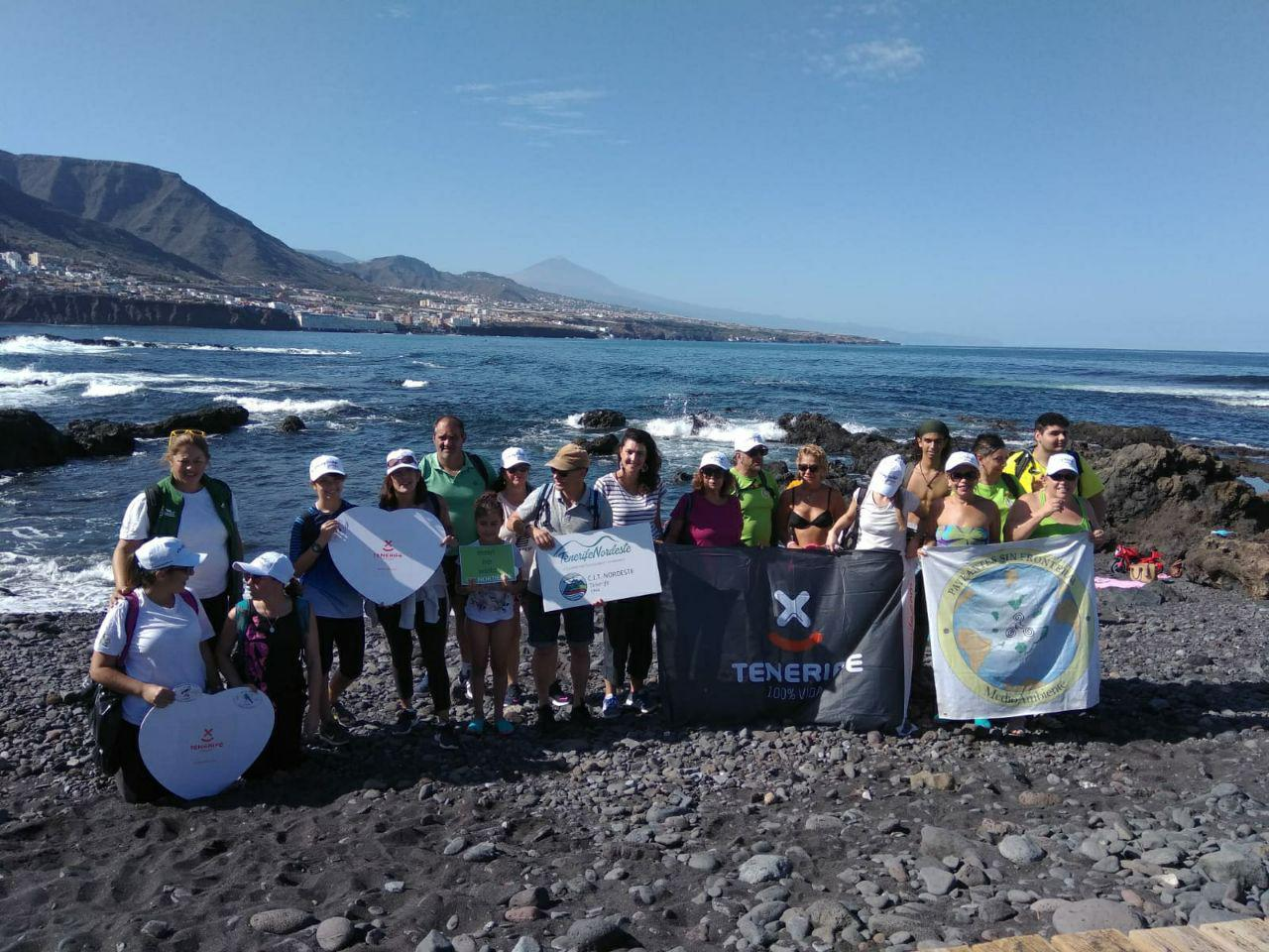 La Punta del Hidalgo acoge la celebración de 'La ruta Intermareal'