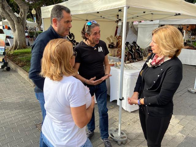 El PP pide a Hidalgo que defienda a los artesanos de Las Palmas de Gran Canaria y permita que compartan espacio con la FEDAC en temporada de cruceros