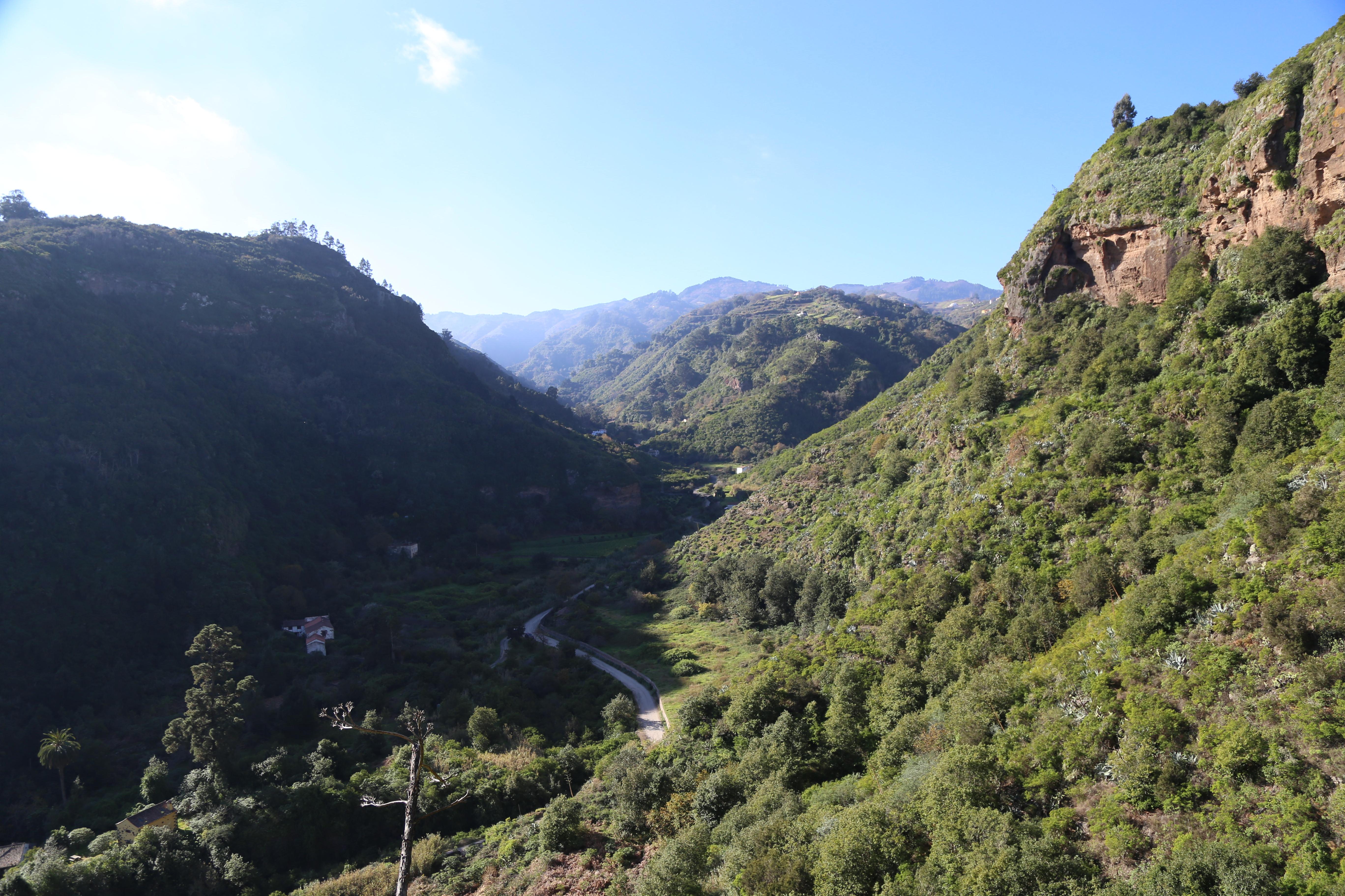 Ruta de senderismo por la zona del Parque Rural de Doramas