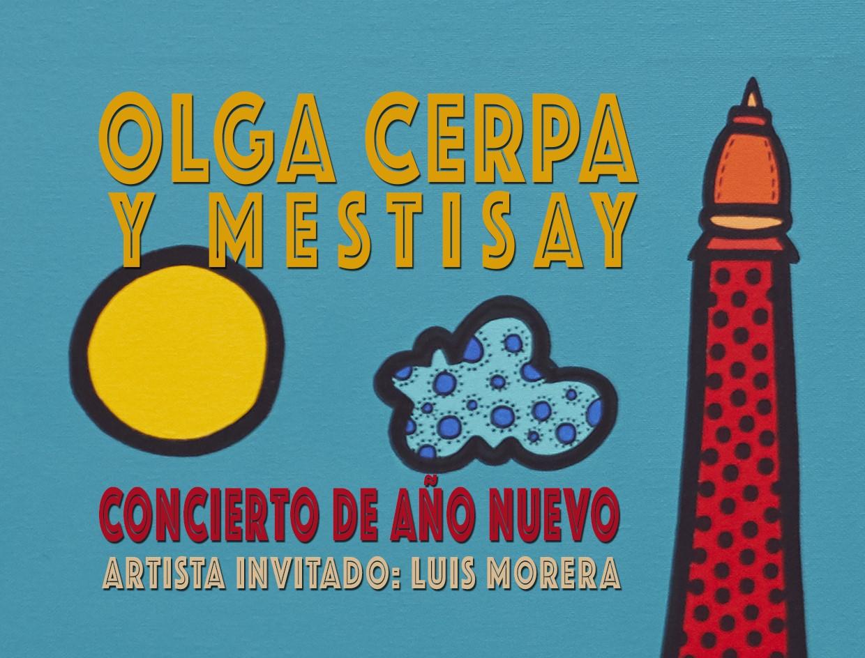 Olga Cerpa y Mestisay celebran su concierto de Año Nuevo en el Mirador de las Dunas de Maspalomas
