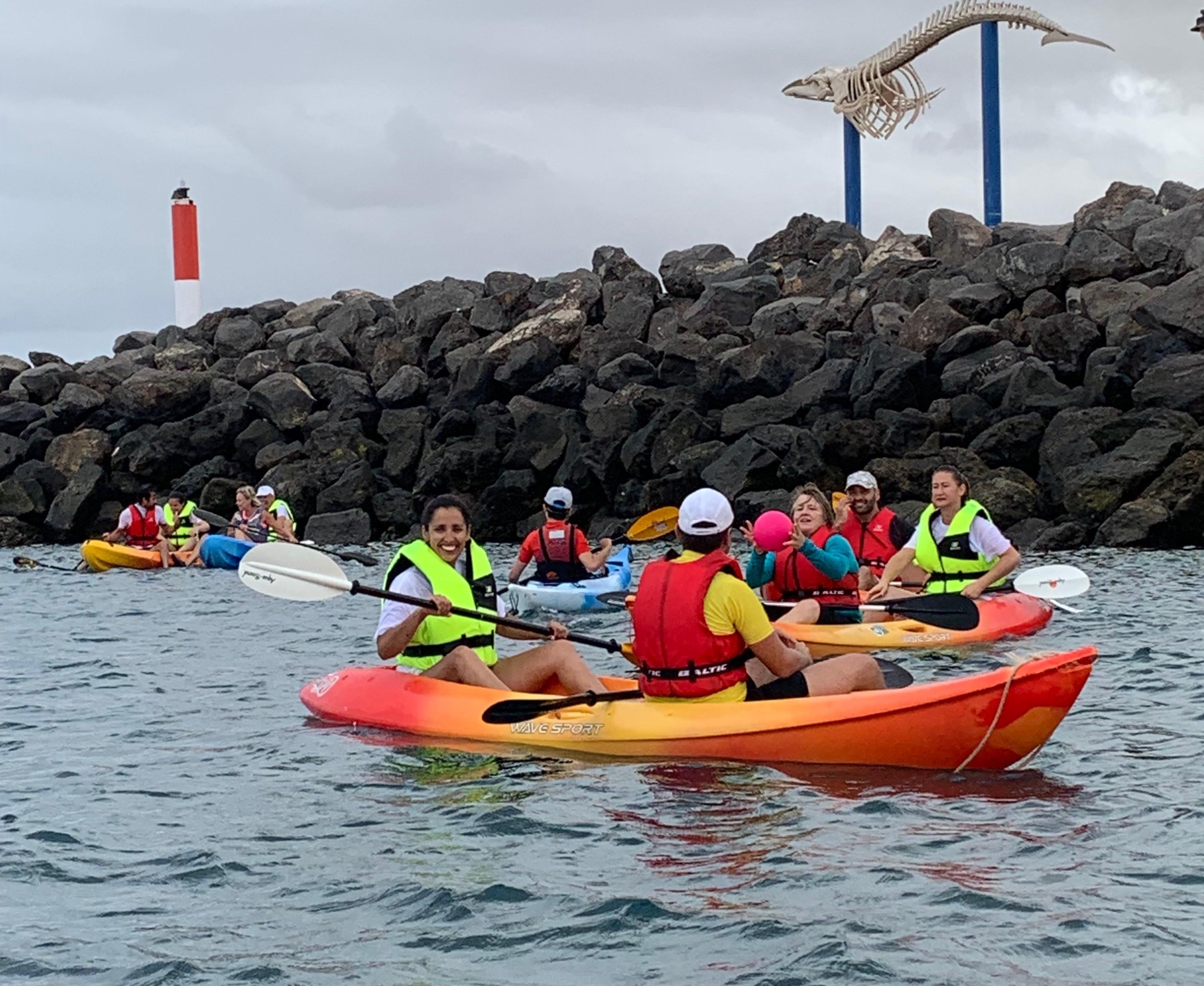 Actividad de vela adaptada en el Centro Náutico del Cabildo de Fuerteventura
