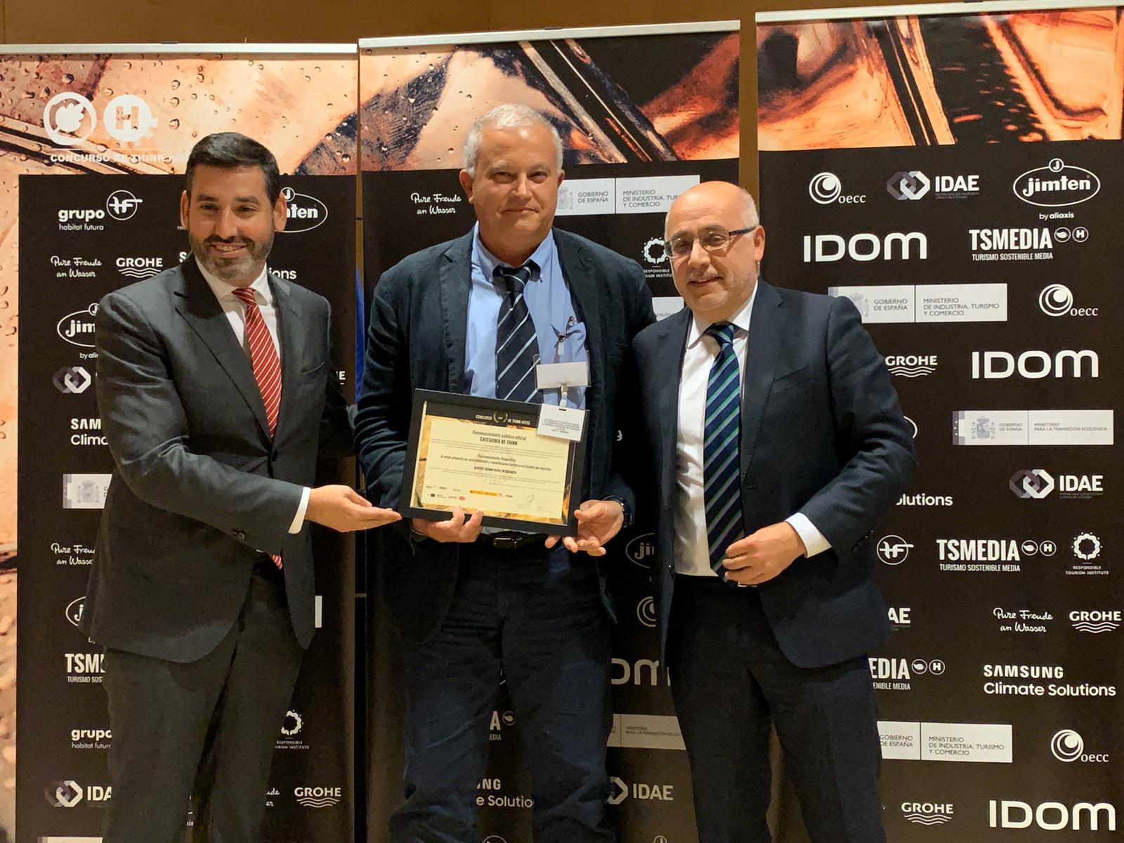 El Hotel Residencia de Gran Canaria recibe un Top 10 Re Think de la mano de Antonio Morales por su apuesta por la sostenibilidad