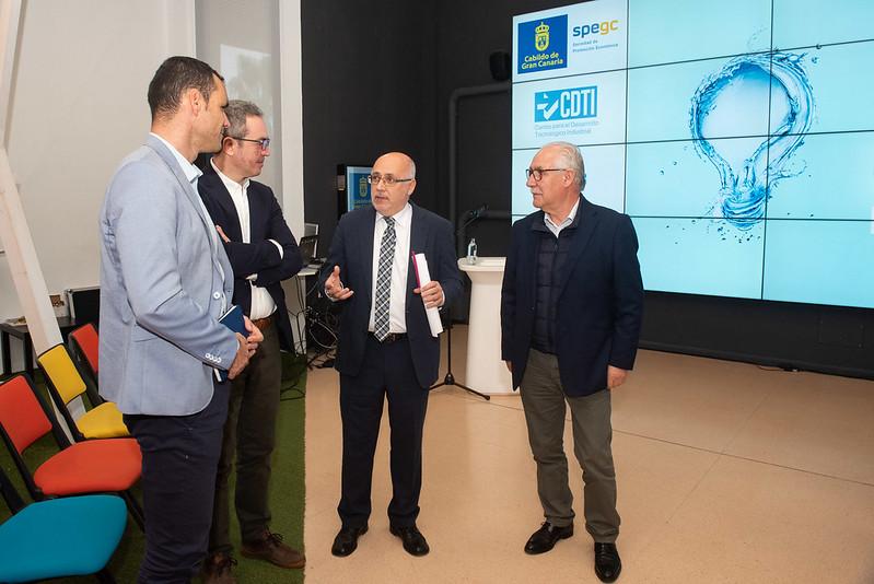 Estado y el Cabildo de Gran Canaria probarán en Gran Canaria tecnología innovadora en desalación de aguas por valor de 20 millones