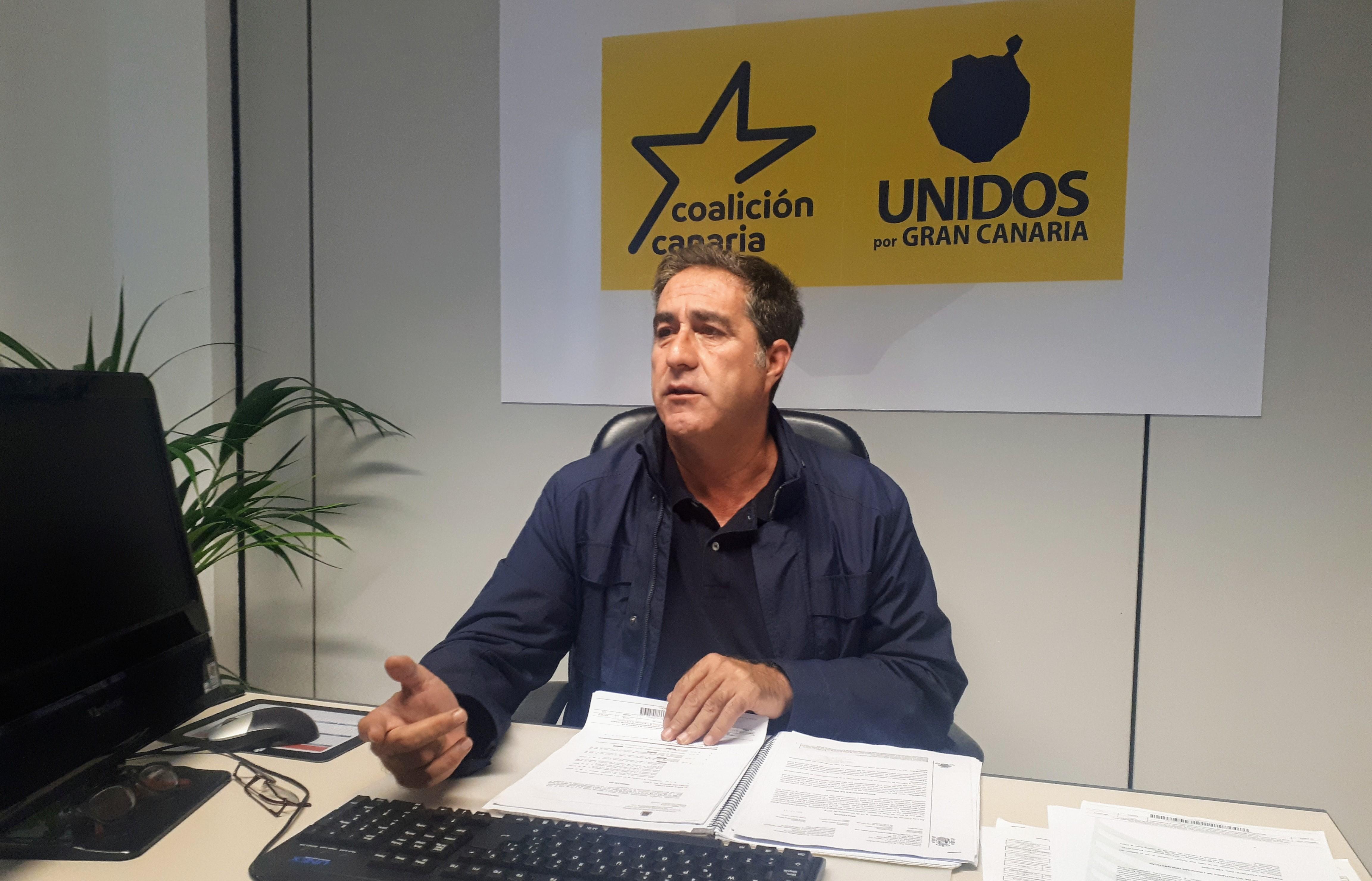 Francis Candil denuncia que el Ayuntamiento de Las Palmas de Gran Canaria oculta los datos de las listas de espera de la PCI