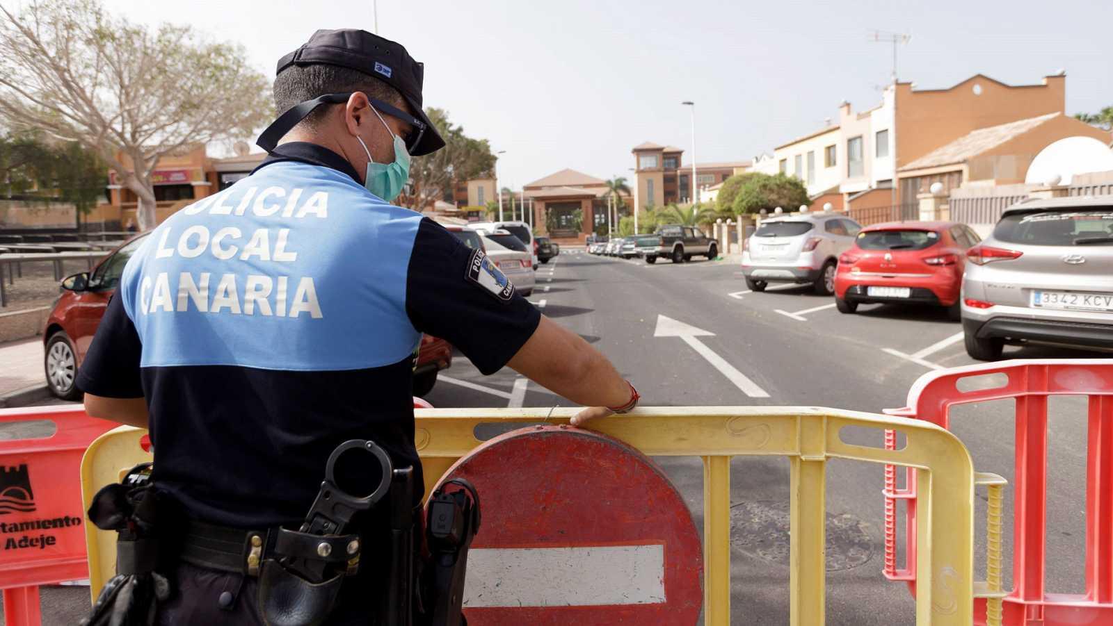 El juez avala la cuarentena por coronavirus en el hotel del sur de Tenerife