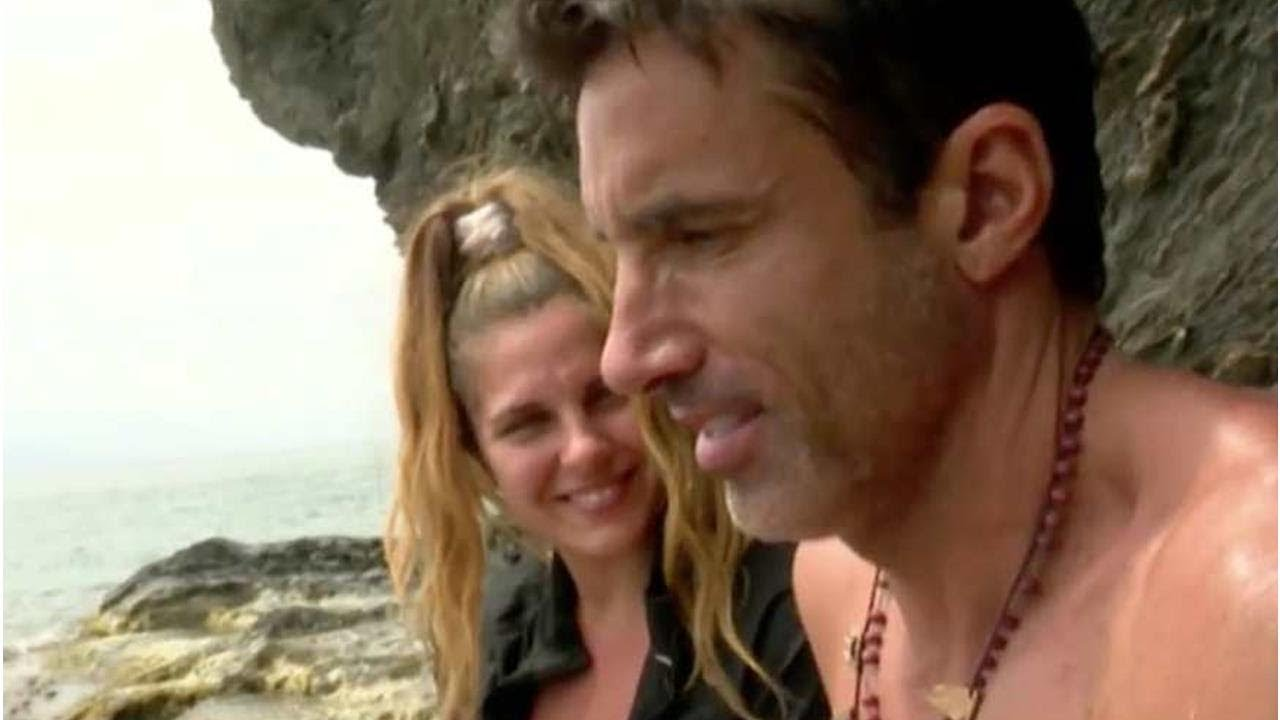 Hugo Sierra e Ivana Icardi en Supervivientes