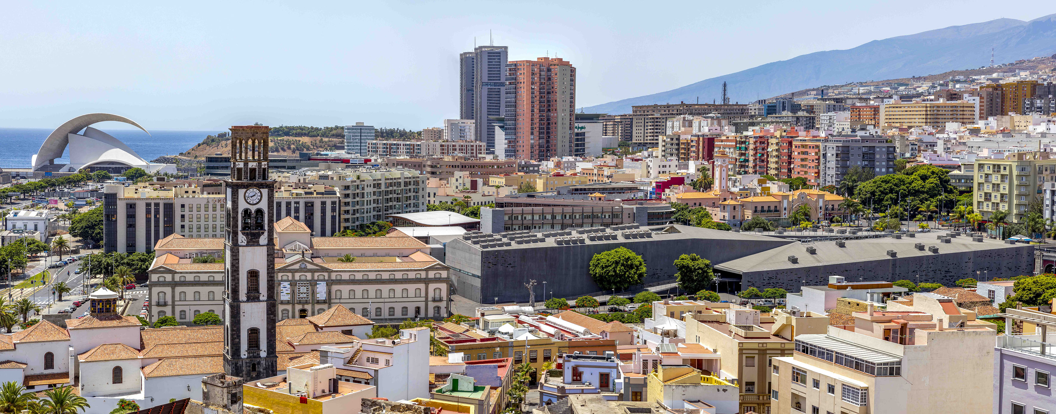 Vista de Santa Cruz de Tenerife