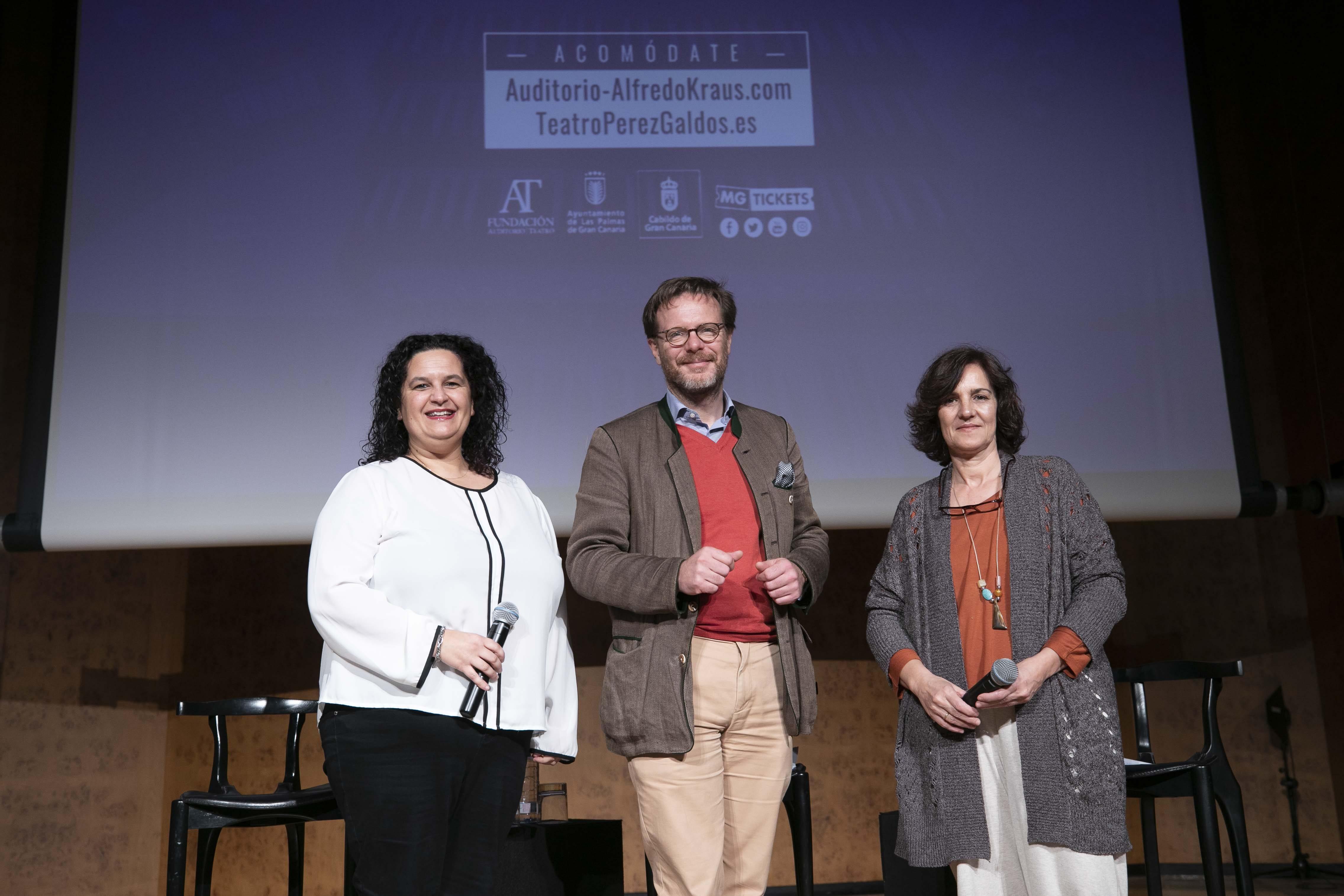 El Auditorio Alfredo Kraus y el Teatro Pérez Galdós avanzan su programación de primavera