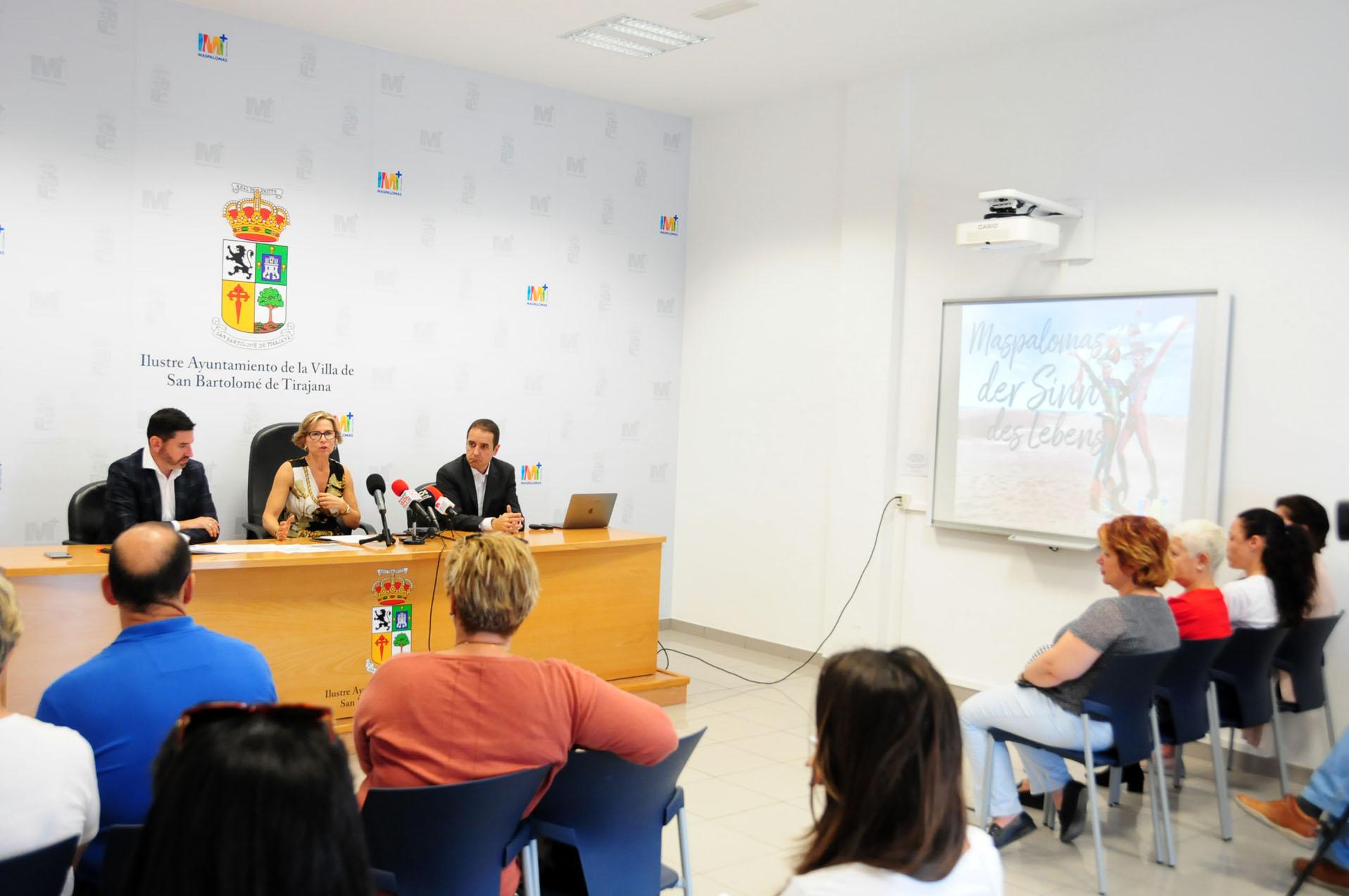 presentación de la ITB Berlin en San Bartolomé de Tirajana