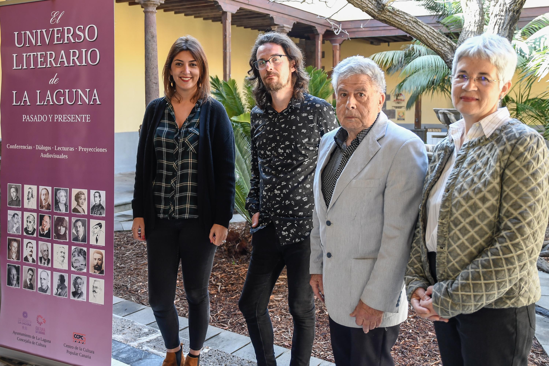 """Presentación del proyecto 'El universo literario de La Laguna"""""""