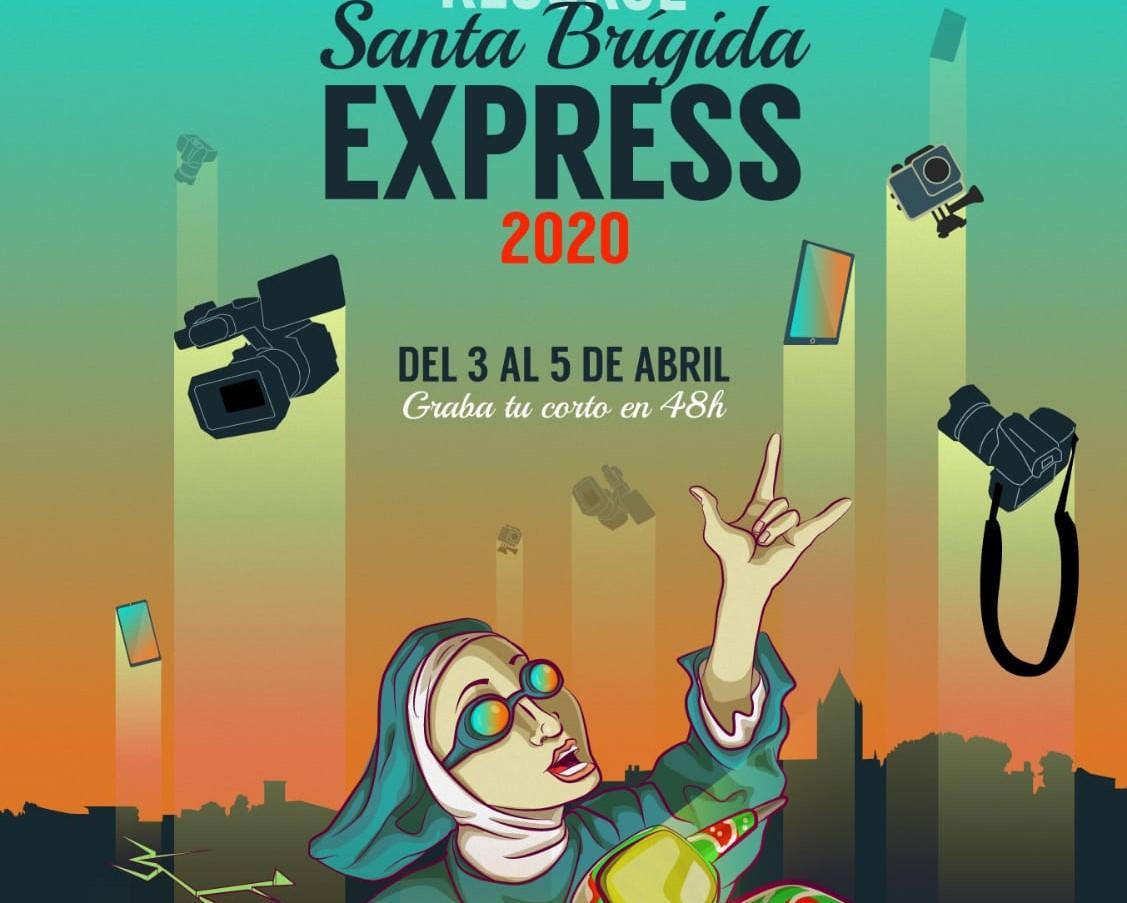 Cartel de Santa Brígida Express