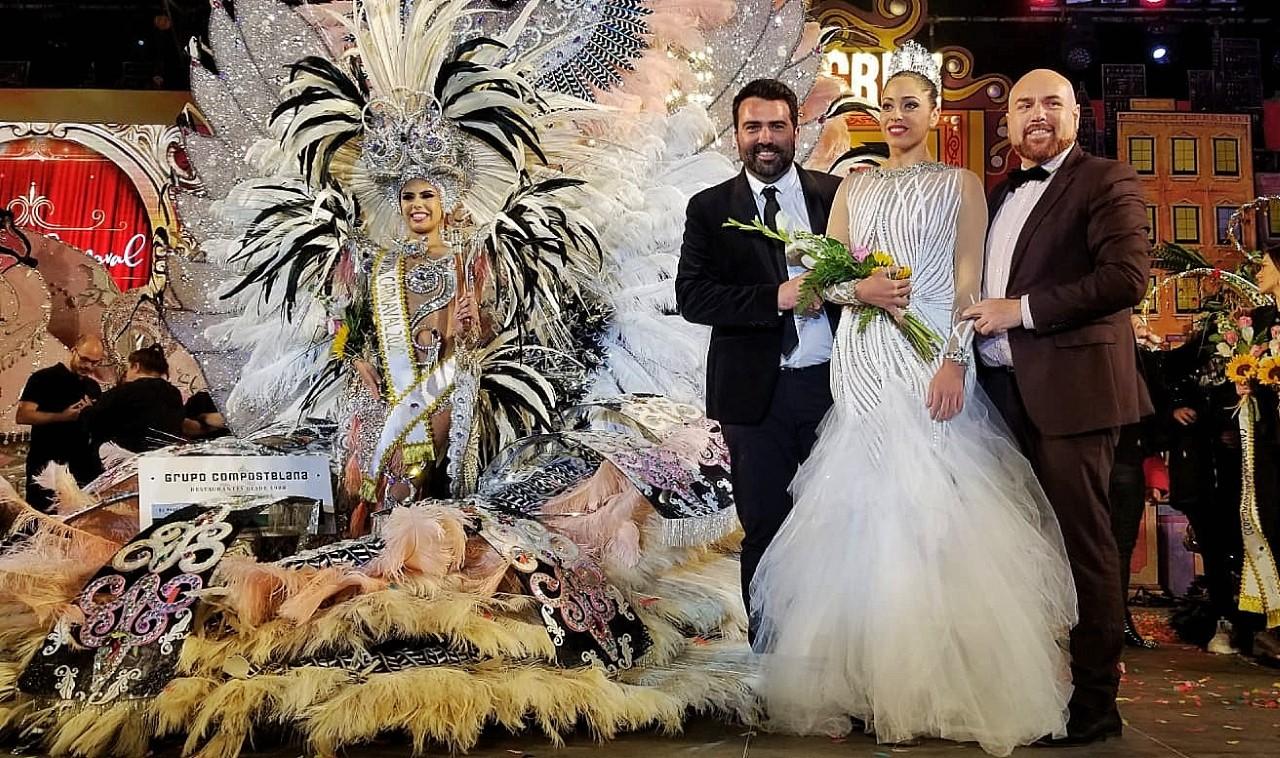 Tamara Martín Gil, reina del Carnaval Internacional de Puerto de la Cruz 2020