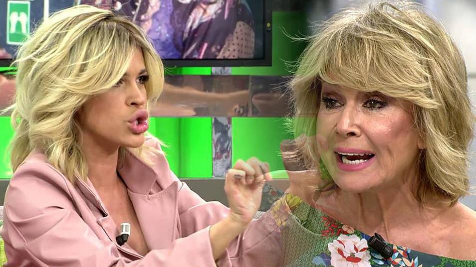 Enfrentamiento entre Mila Ximénez e Ylenia Padilla