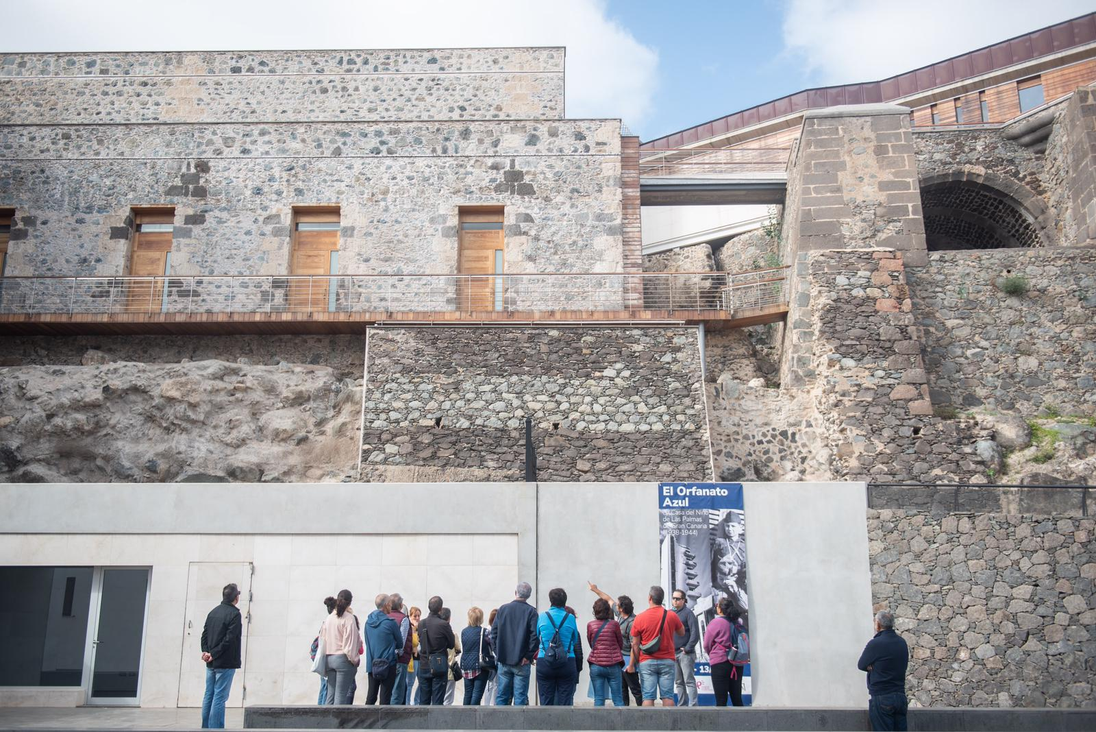 Visita guiada del Cabildo de Gran Canaria al Castillo de Mata
