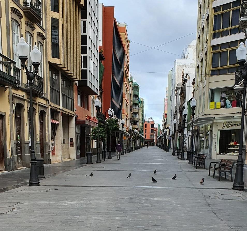 Las calles de Las Palmas de Gran Canaria vacías | Canarias