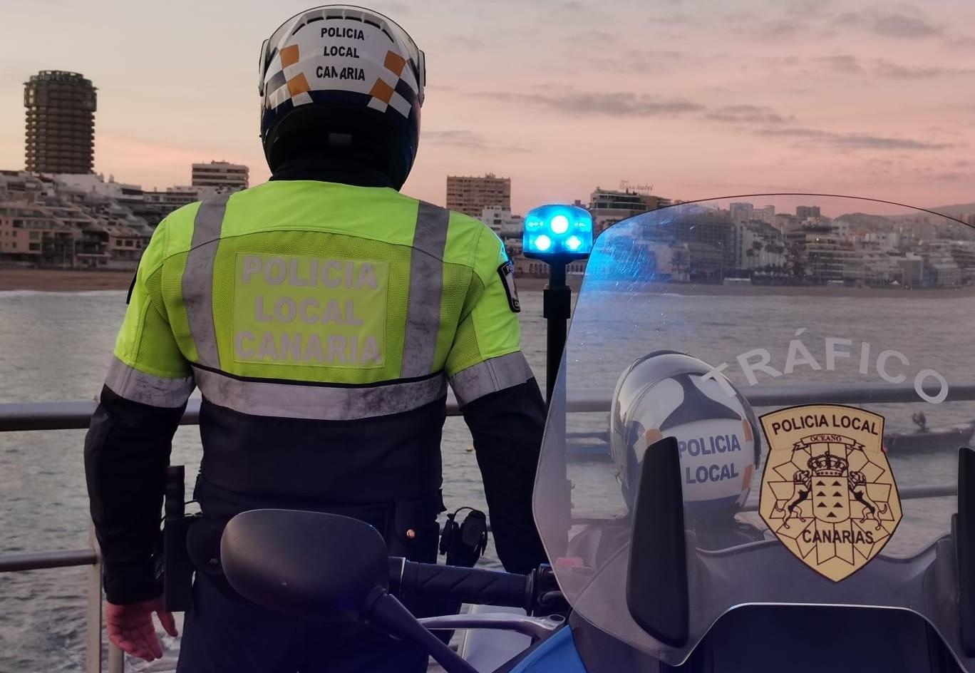 Un total de 1.756 personas propuestas para sanción por la Policía Local de Las Palmas de Gran Canaria en tres semanas de confinamiento