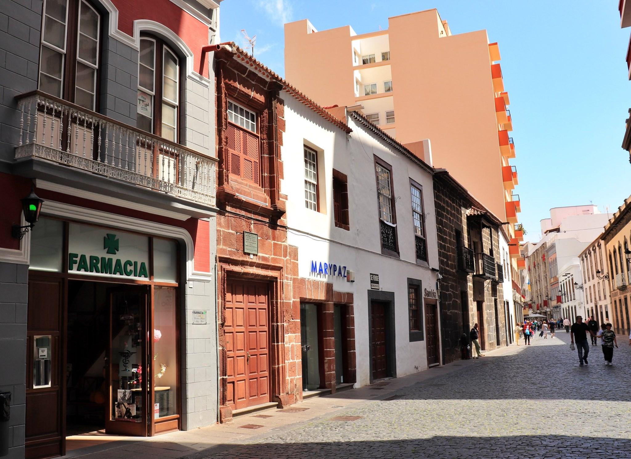 Calle Tedote  Santa Cruz de La Palma