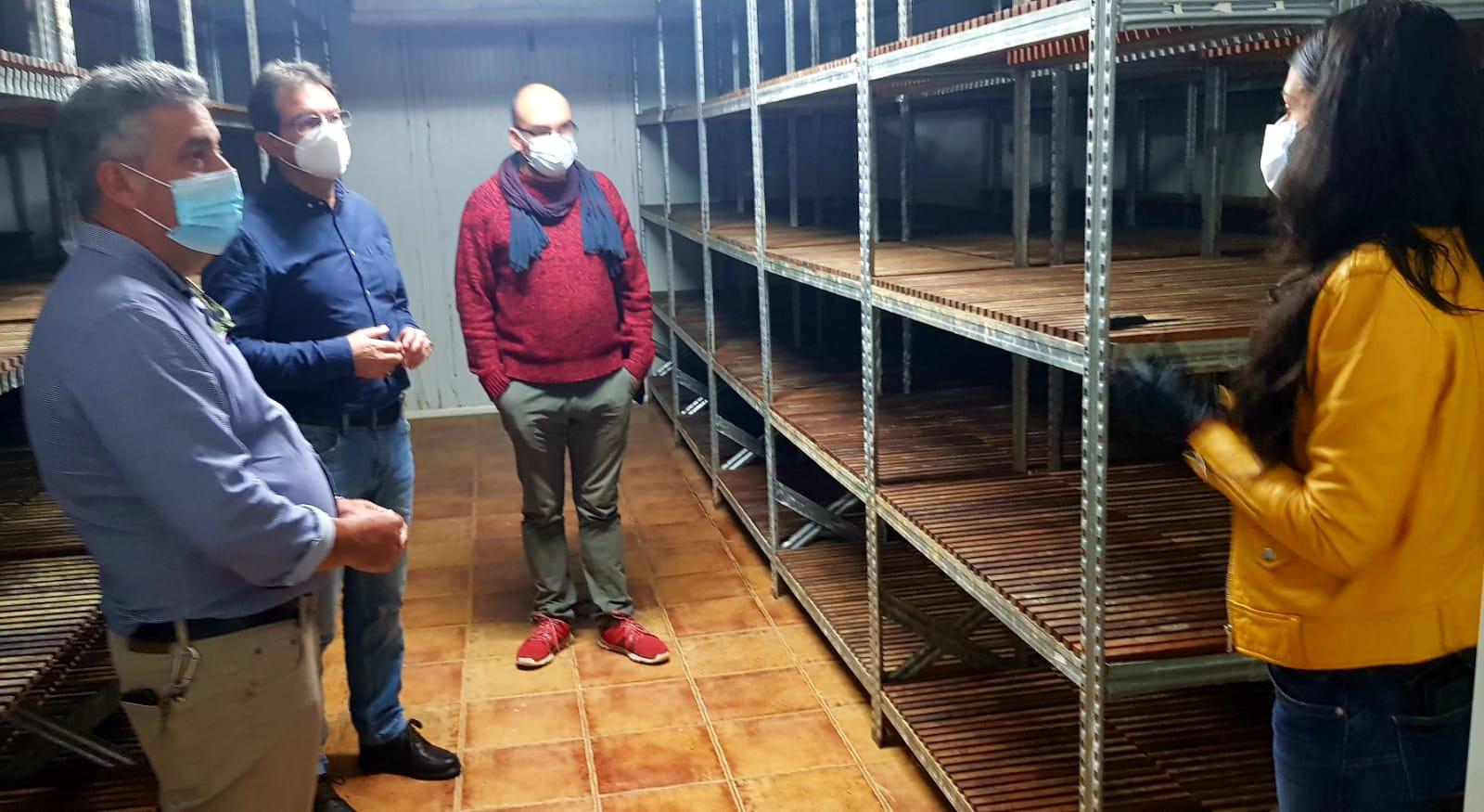 Puesta en marcha de la cámara de maduración de quesos de Gasam en La Palma