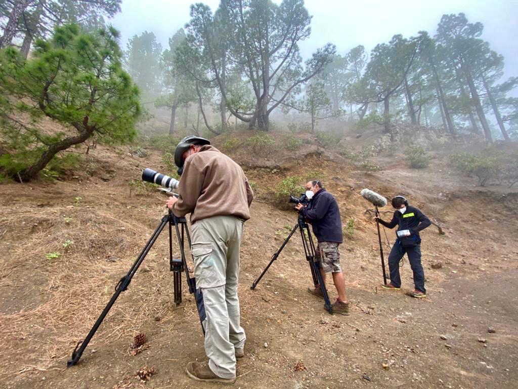 """Rodaje del documental """"Las Hijas del Fuego"""""""