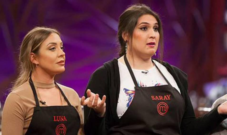 Luna y Saray en Masterchef