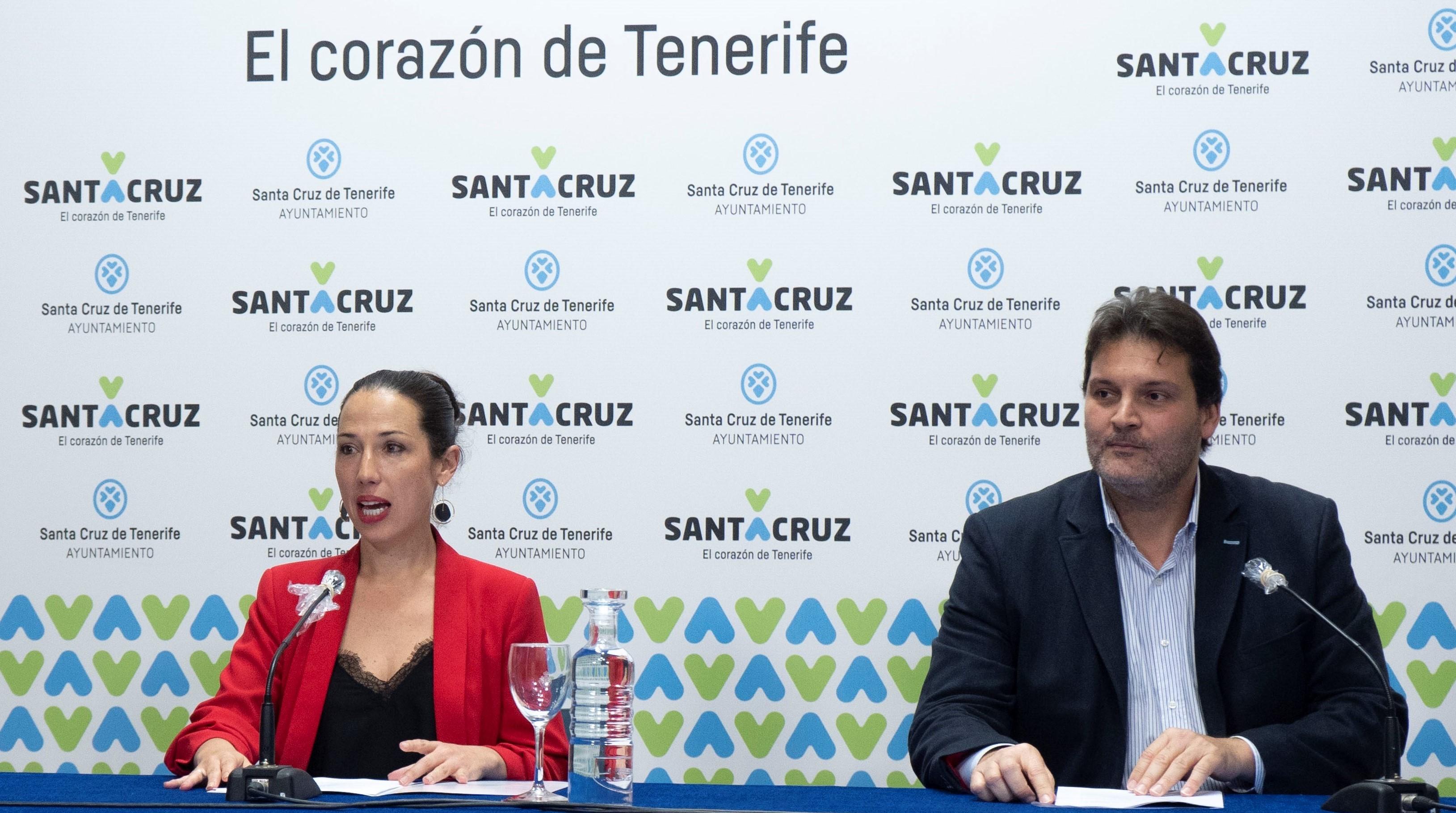 Patricia Hernández y José Ángel Martín- Santa Cruz de Tenerife