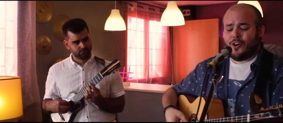 """El cantautor grancanario Rubén Rodríguez y el timplista Abraham Ramos presentan el videoclip """"Soy de Aquí"""""""