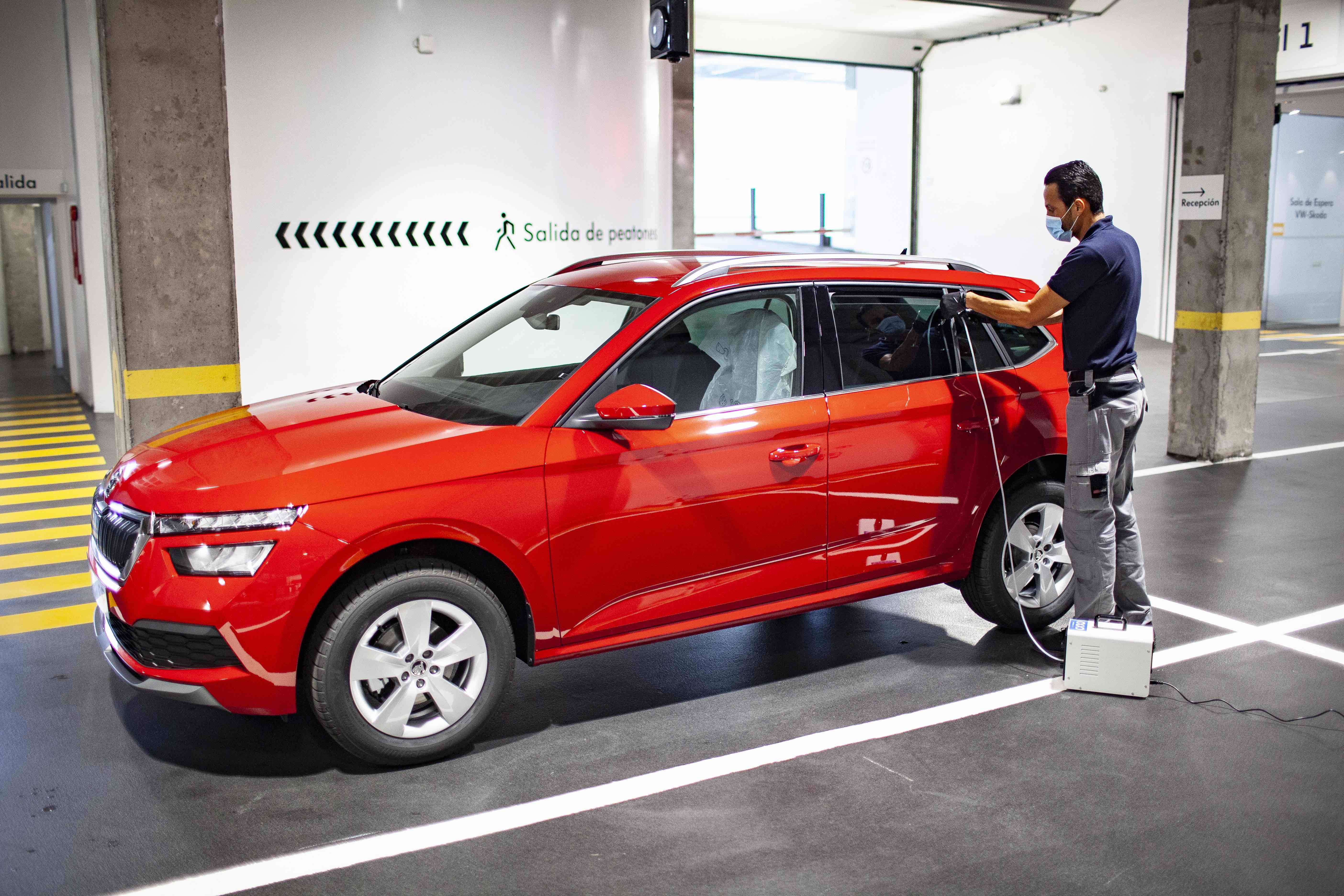 Domingo Alonso Group higieniza tu vehículo con Ozono