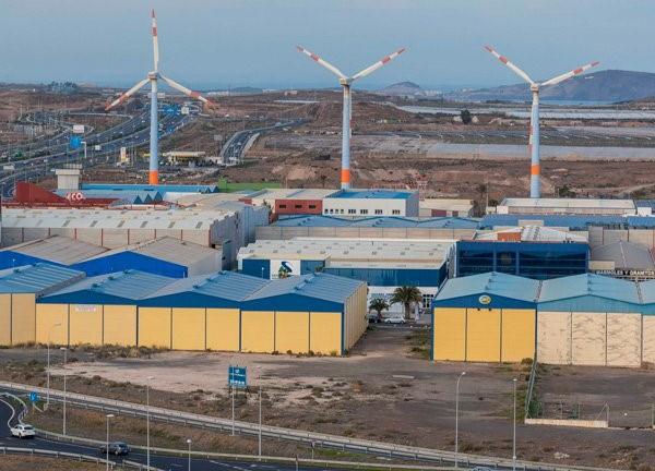Polígono Industrial de Arinaga. Agüimes