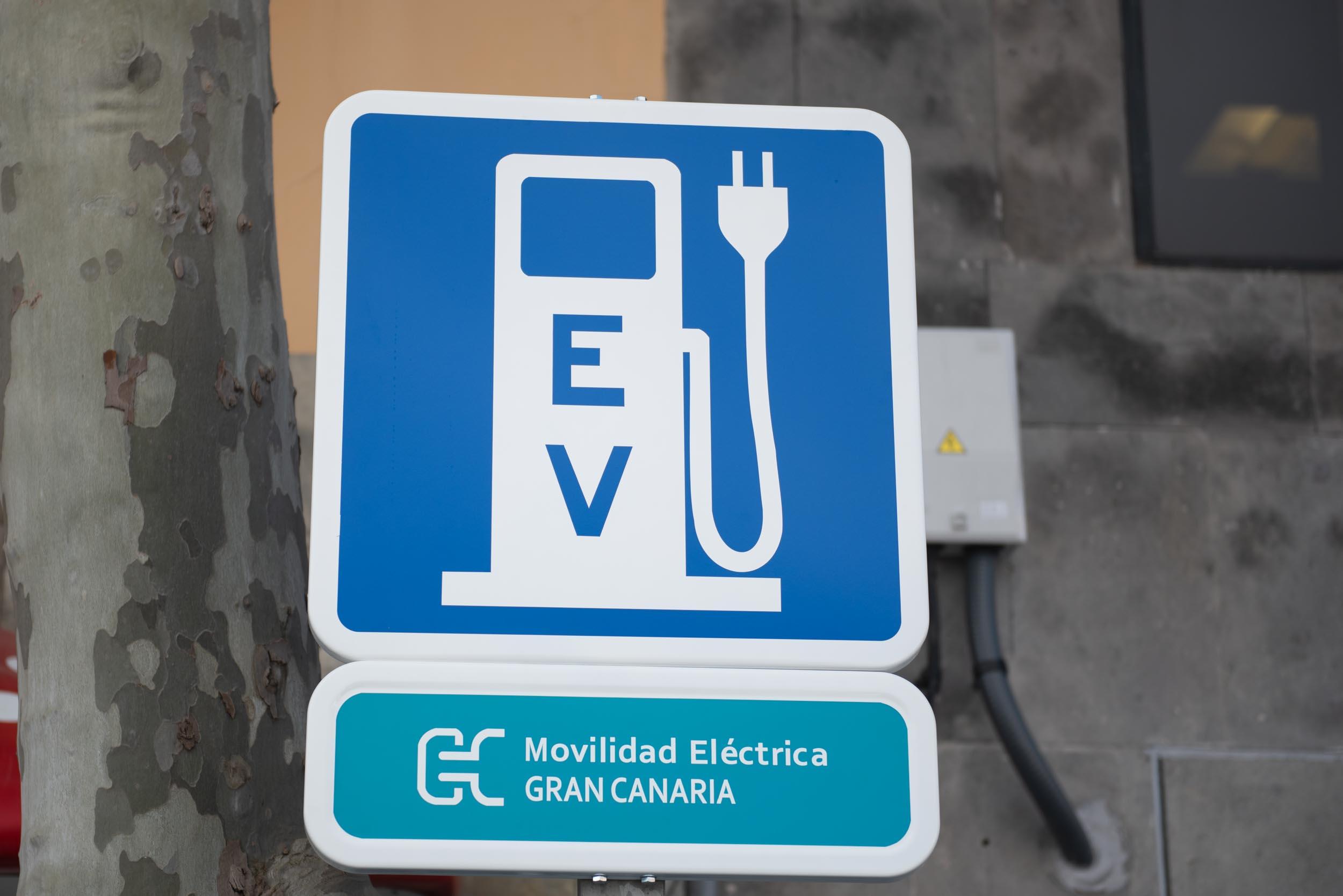 Red de Recarga de Vehículos Eléctricos. Gran Canaria