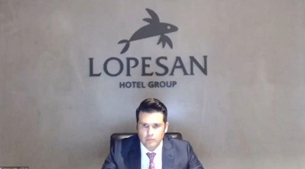 """Francisco López, CEO Lopesan, en el foro """"Empresas españolas liderando el futuro"""" de la CEOE"""