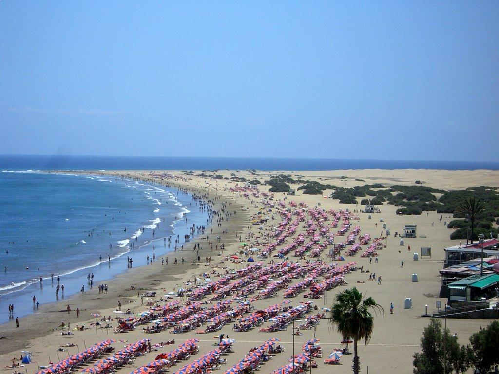 Los datos de abril de turistas extranjeros y de gasto turístico han quedado a cero según el INE