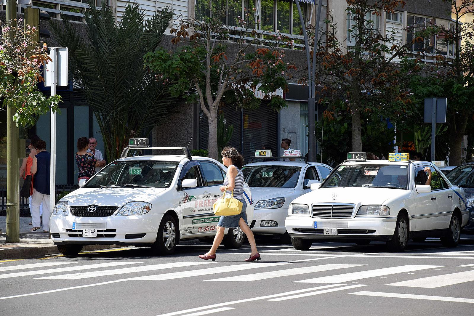 Taxis de Santa Cruz de Tenerife