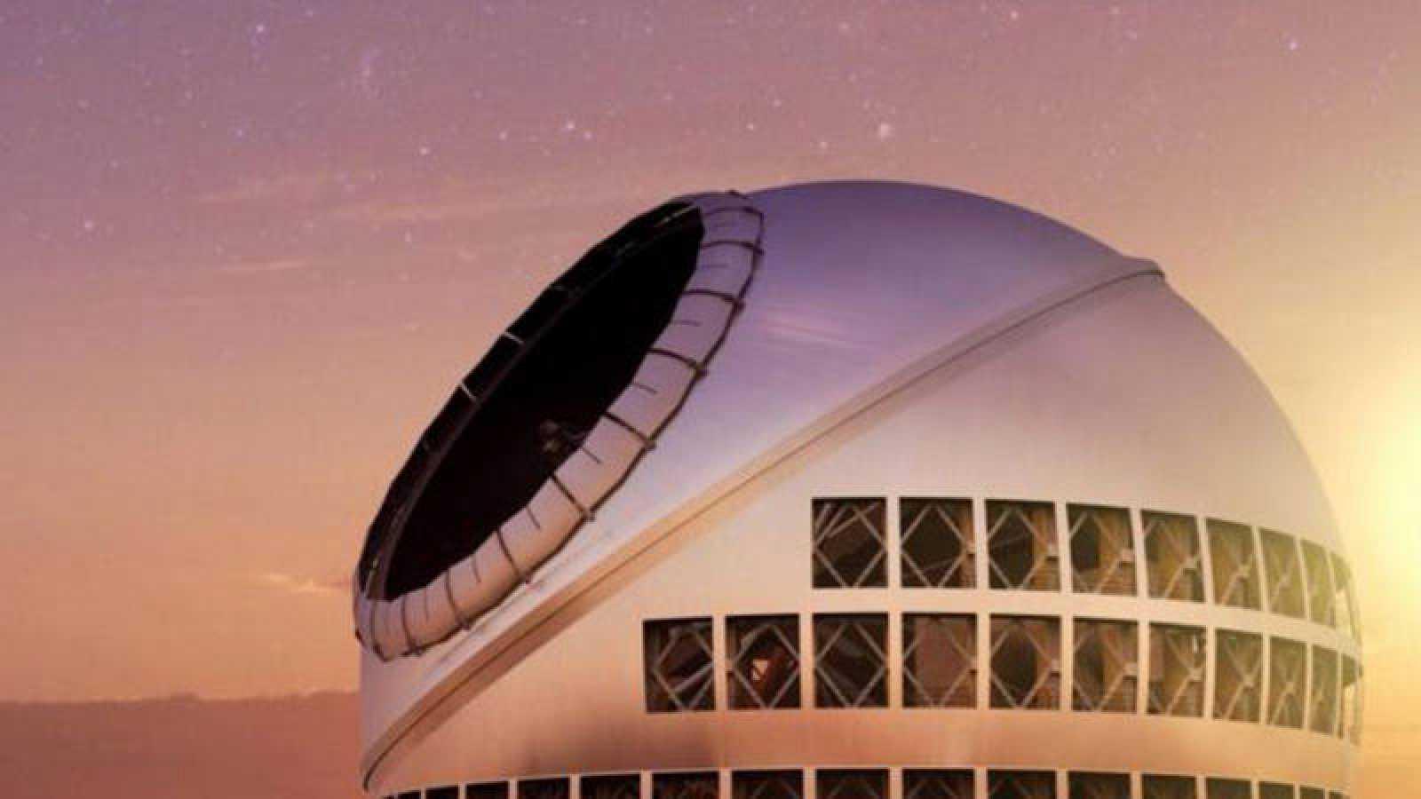 Telescopio de Treinta Metros (TMT). La Palma