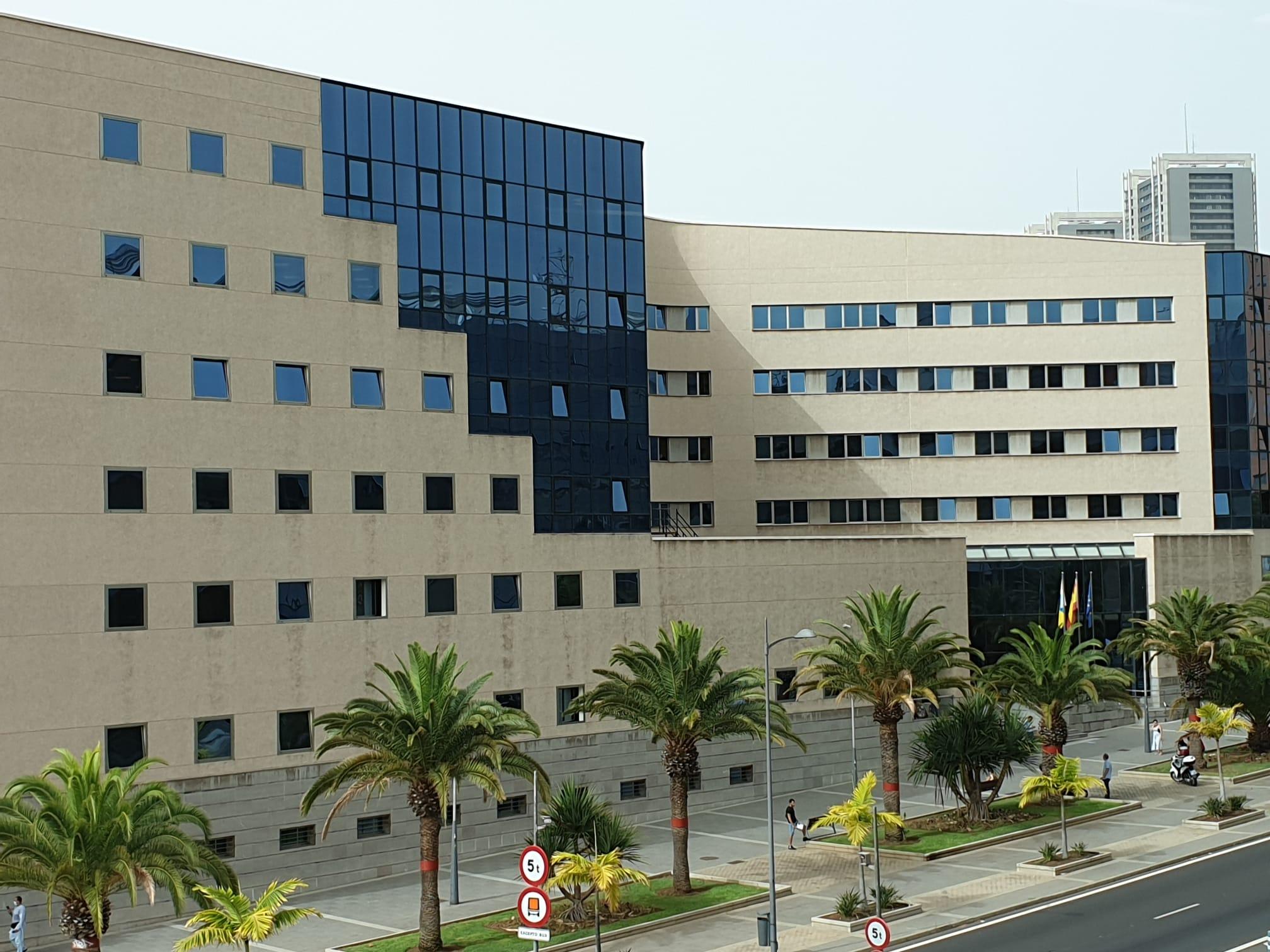 Edificio judicial. Santa Cruz de Tenerife