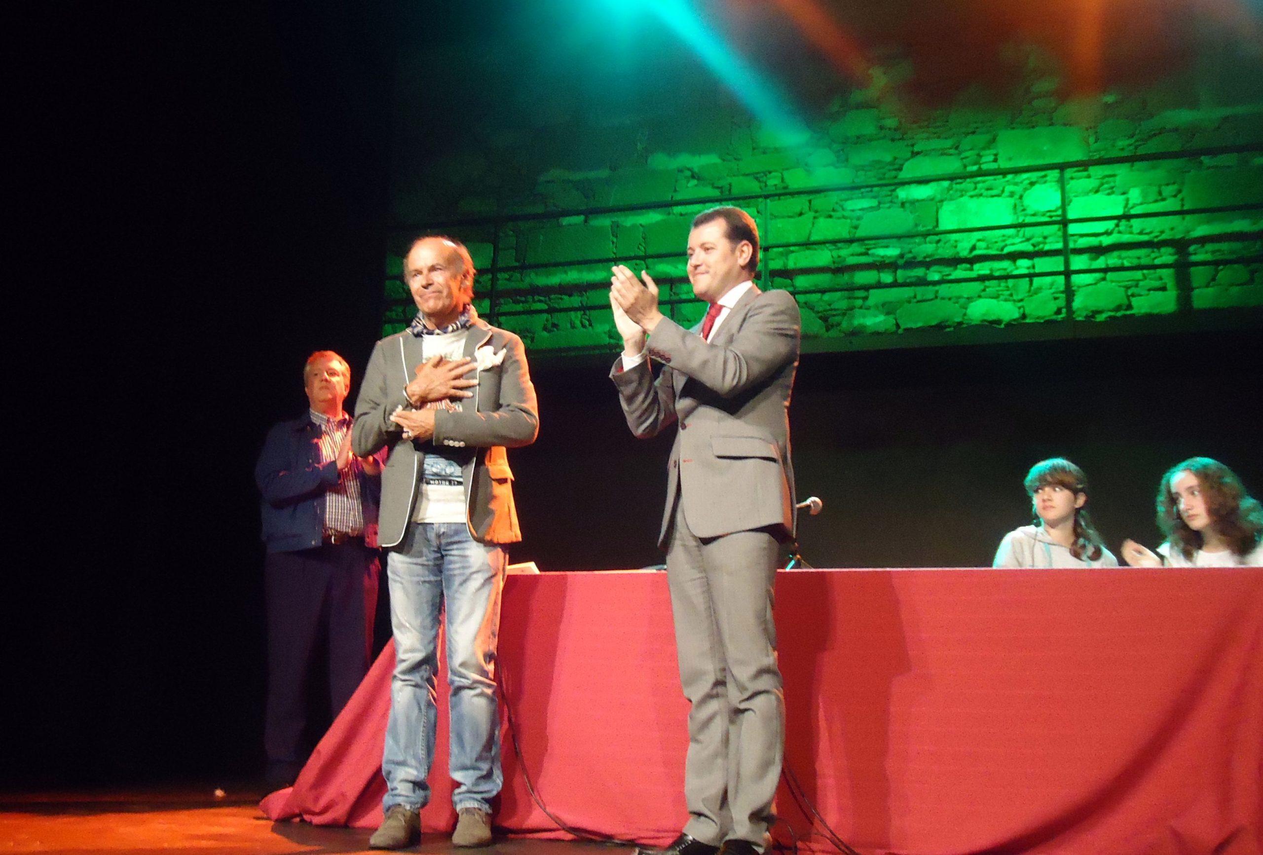 Teodoro Sosa y Tito Santana. Gáldar