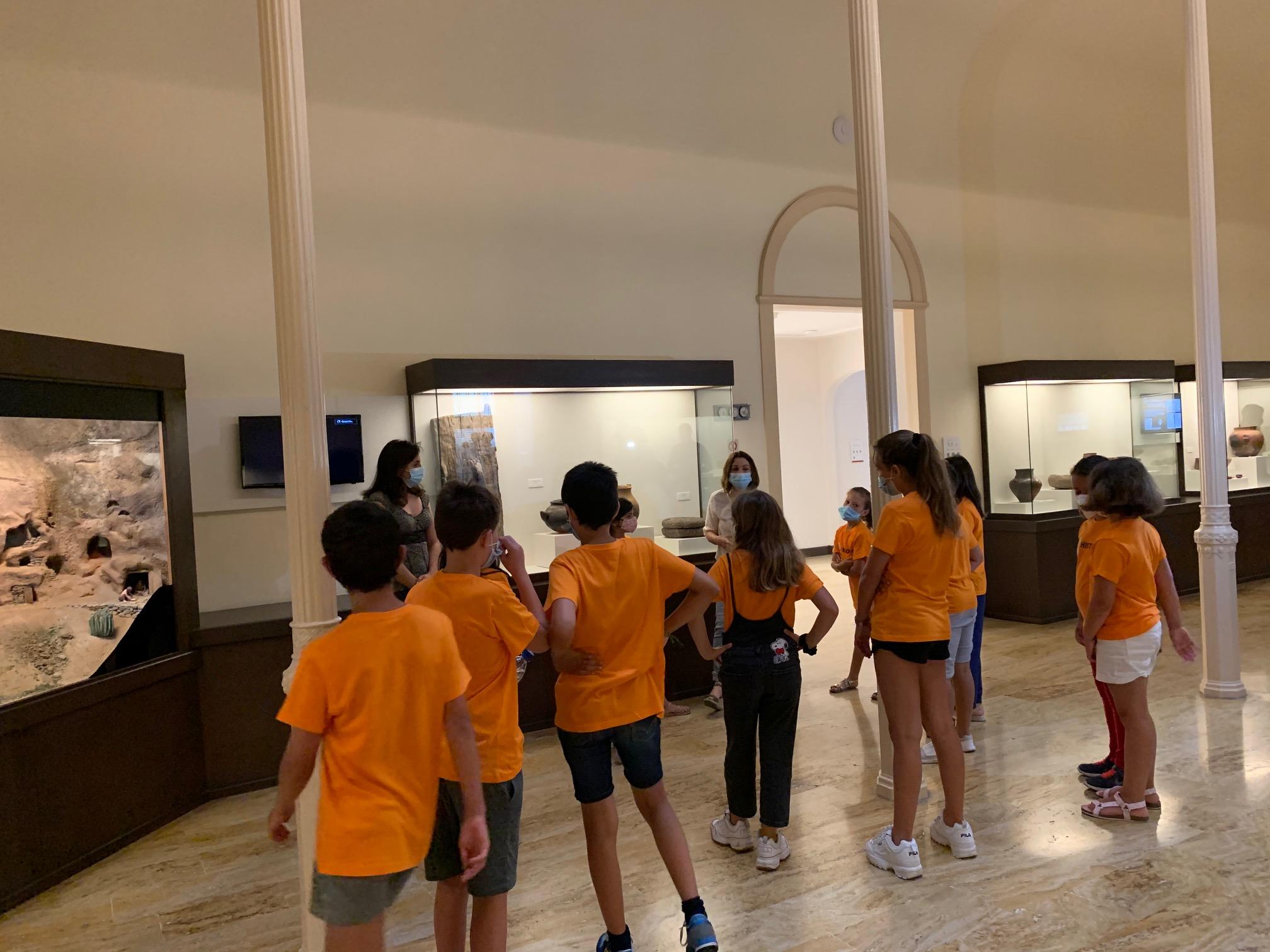 Taller infantil de El Museo Canario. Las Palmas de Gran Canaria